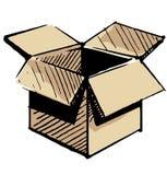 Open store box Stock Image