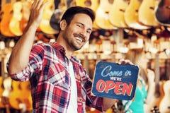 Open store Royalty Free Stock Photos