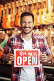Open store Royalty Free Stock Photography