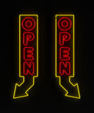 Open Store Sign Stock Images