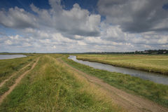 Open Suffolk Waterways Royalty Free Stock Photos