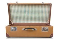 The open suitcase Stock Photos