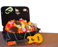 Open Suitcase of Fun Stock Images