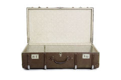 Open suitcase Royalty Free Stock Photo