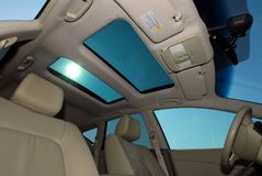 Open Sunroof Stock Image