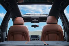 Open Sunroof Royalty Free Stock Images