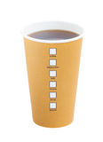 Open take away coffee Stock Photography