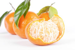 Open tangerine Stock Images