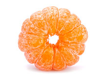 Open tangerine Stock Photo