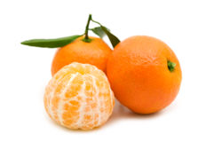 Open tangerine Royalty Free Stock Photo