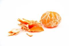Open tangerine Stock Photo