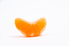 Open tangerine Stock Photography