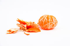 Open tangerine Royalty Free Stock Photography
