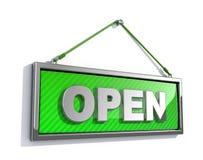Open Teken royalty-vrije illustratie