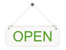 Open teken stock illustratie