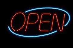 Open Teken stock afbeelding