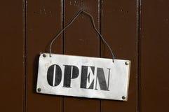 Open teken Royalty-vrije Stock Afbeelding
