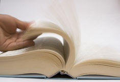 Open The Book Stock Photo
