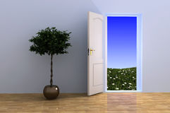 Open The Door. Stock Photography