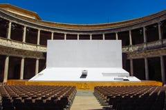 Open theatre Stock Image