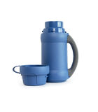 Open Thermos On White Royalty Free Stock Images