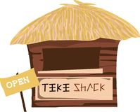 Open Tiki Shack Stock Photos