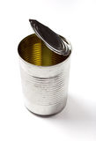 Open Tin Can Royalty Free Stock Image