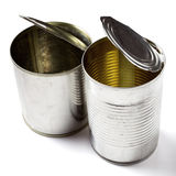 Open Tin Can Stock Photography
