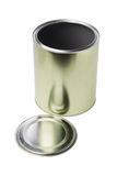 Open Tin Can Royalty Free Stock Photography