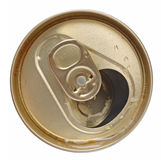 Open tin can Stock Image