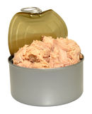 Open Tin Of Tuna Fish Royalty Free Stock Image