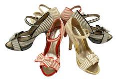 Open-toe shoes Stock Photos