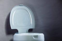 Open toilet bowl Stock Photo