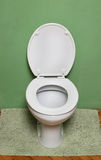 Open toilet seat Royalty Free Stock Photography