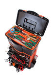 Open tool box with tools Royalty Free Stock Image