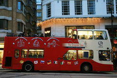 Open-top City Tour Bus, London Royalty Free Stock Image