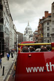 Open-top City Tour Bus, London Stock Image