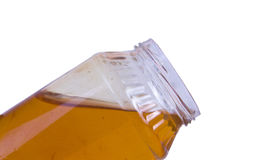Open top honey jar Stock Image