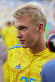 Open Training session of Ukraine National Football Team Royalty Free Stock Photos