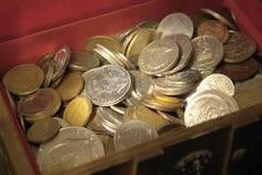 Open treasure chest Stock Image