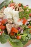 Open Tuna Salad Sandwich Stock Images