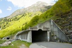 Open Tunnel royalty-vrije stock afbeelding