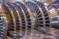 Open turbine power Stock Photo