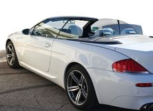 Open tweepersoonsauto Royalty-vrije Stock Afbeelding