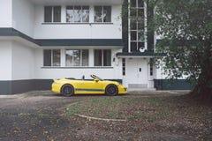 Open tweepersoonsauto 2 Royalty-vrije Stock Foto