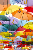 Open Umbrellas Royalty Free Stock Image