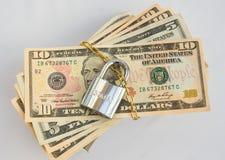 Open uw contant geld: bij een verkoop van de autolaars? Royalty-vrije Stock Afbeelding
