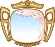 Open venster stock illustratie
