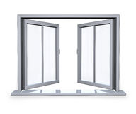 Open venster Stock Fotografie