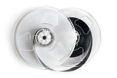 Open video cassette Royalty Free Stock Photo